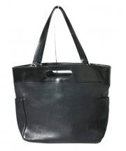 HERGOPOCH(エルゴポック)の古着「レザートートバッグ」|ブラック