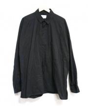 Hed Mayner(ヘド メイナー)の古着「ビッグシャツ」|ブラック