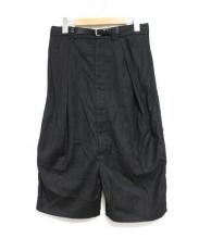 MM6(エムエムシックス)の古着「スーパーサルエルパンツ」|ブラック