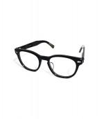 KEARNY(カーニー)の古着「Wellingtonセルフーレム眼鏡」|ブラック