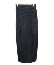 COMME des GARCONS(コムデギャルソン)の古着「92'Sオールドウールスカート」|ブラック