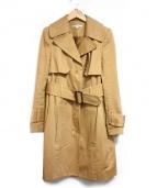 CARVEN(カルヴェン)の古着「シングルトレンチコート」 ベージュ