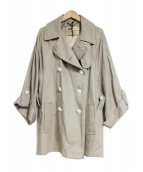 Traditional Weatherwear(トラディショナルウェザーウェア)の古着「HELSTONトレンチコート」|ベージュ