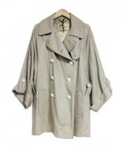 Traditional Weatherwear(トラディショナルウェザーウェア)の古着「HELSTONトレンチコート」 ベージュ