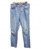 COCURATA(コキュラタ)の古着「SLIM TAPERED JEAN デニム」 ブルー