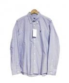 SOPHNET.(ソフネット)の古着「BDオックスフォードシャツ」|ブルー
