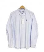 SOPHNET.(ソフネット)の古着「BDオックスフォードシャツ」|ライトブルー