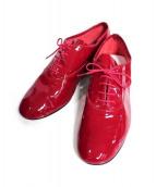 Repetto(レペット)の古着「Oxford shoe Zizi シューズ」 レッド