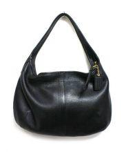 COACH(コーチ)の古着「エルゴーホーボー バッグ」|ブラック