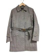MACKINTOSH(マッキントッシュ)の古着「ウール地ゴム引きコート」|ブラウン