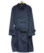 LIVING CONCEPT(リビングコンセプト)の古着「ALL WEATHER COAT コート」|ネイビー