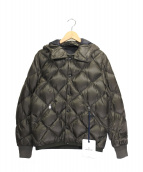 MONCLER(モンクレール)の古着「JACOUBET DOWN JACKET」|カーキ