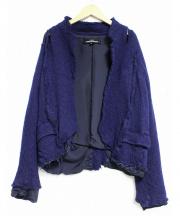 tricot COMME des GARCONS(トリココムデギャルソン)の古着「ダメージ加工ジャケット」
