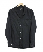 STEVEN ALAN(スティーブンアラン)の古着「オープンカラーシャツ」|ブラック