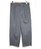 EN ROUTE(アンルート)の古着「タックワイドパンツ」|グレー