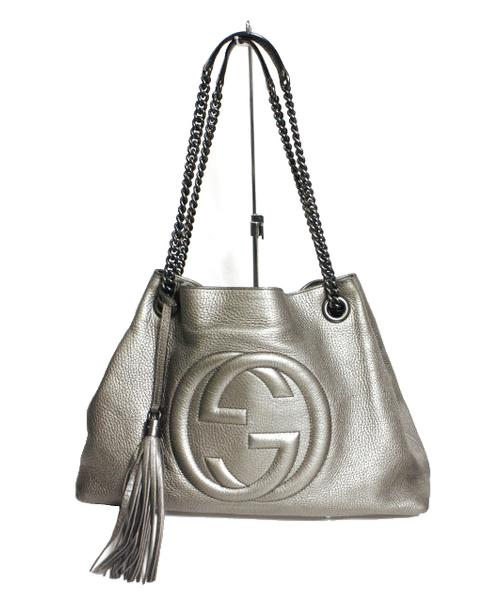 quality design 635d6 a7045 [中古]GUCCI(グッチ)のレディース バッグ SOHOショルダーバッグ