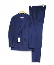 TOMORROW LAND(トゥモローランド)の古着「ダブルスーツ」|ネイビー