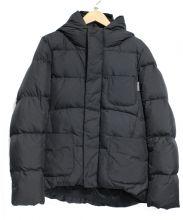 Gymphlex(ジムフレックス)の古着「フーデッドダウンジャケット」|ブラック