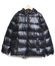 Gymphlex(ジムフレックス)の古着「ナイロンダウンジャケット」|ブラック
