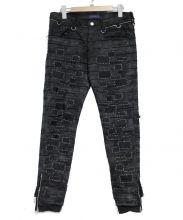 UNDERCOVER(アンダーカバー)の古着「16SS SCAB復刻ハギパンツ」|ブラック