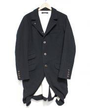 Johnbull(ジョンブル)の古着「ウールクラシックコート」|ブラック