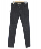 rewords/rewordsdesign(リワーズリワーズデザイン)の古着「デニムパンツ」|ブラック