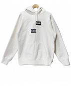 SUPREME×COMME des GARCONS SHIRT(シュプリーム×コムデギャルソンシャツ)の古着「18AW Split Box Logo Hooded Swe」