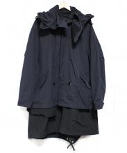 DISCOVERED(ディスカバード)の古着「オーバーレイフィールドコート」|ブラック