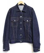 uniform experiment(ユニフォーム エクスペリメント)の古着「PHILOSOPHY DENIM JACKET ジャケット」|インディゴ