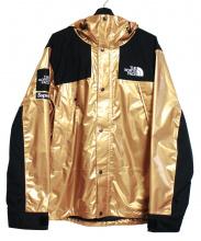 Supreme × THE NORTH FACE(シュプリーム ノースフェイス)の古着「Metallic Mountain Parka ジャケット」|ゴールド