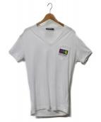 DSQUARED2(ディースクエアード)の古着「VネックTシャツ」|ホワイト