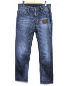 DSQUARED2(ディースクエアード)の古着「ダメージ&パッチ加工デニムパンツ」|インディゴ