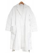 GALERIE VIE(ギャルリーヴィー)の古着「羽織コート」|ホワイト