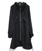 stof(ストフ)の古着「刺繍マウンテンコート」|ブラック