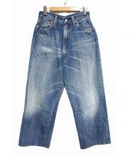 LENO&CO(リノ)の古着「KAY HIGH WAIST JEANS FADE WASH」|インディゴ