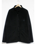 PORTER CLASSIC(ポータークラシック)の古着「FLEECE JACKET - BLACK」