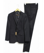 COMME CA MEN(コムサメン)の古着「シャドーストライプセットアップスーツ」