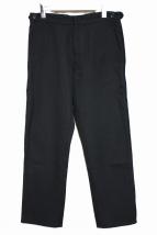 COMME des GARCONS HommePlus(コムデギャルソンオムプリュス)の古着「90'Sウールパンツ」|ブラック