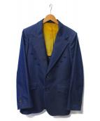 Needles(ニードルス)の古着「デザインジャケット」 ブルー