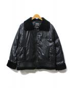 DUVETICA(デュベティカ)の古着「ム-トンダウンジャケット」|ブラック