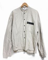 SUNSEA(サンシー)の古着「Linen Bomber Shirt. シャツ」