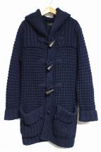 ARTISAN(アルチザン)の古着「ニットダッフルコート」