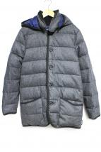 Traditional Weatherwear(トラディショナルウェザーウェア)の古着「WAVERLY DOWN WOOLダウンコート」|グレー