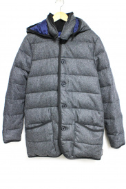 Traditional Weatherwear(トラディショナルウェザーウェア)の古着「WAVERLY DOWN WOOLダウンコート」