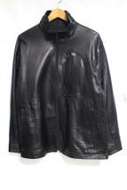 PORTER CLASSIC(ポータークラシック)の古着「SHEEP SKIN ZIP UP」|ブラック