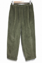 CellarDoor(セラドール)の古着「CORD EASYパンツ」|オリーブ