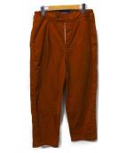 Gymphlex(ジムフレックス)の古着「ワイドパンツ」|ブラウン