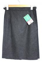 O'NEIL OF DUBLIN(オニールオブダブリン)の古着「プリーツスカート」|チャコールグレー