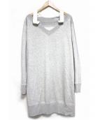 MM6(メゾンマルタンマルジェラ)の古着「Oversize sweatshirt dress トップス」