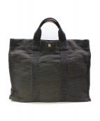 HERMES(エルメス)の古着「エールライントートバッグ」|グレー